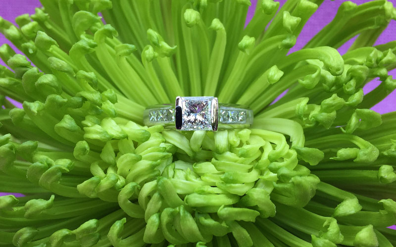 Princess Cut Engagement Rings Dallas