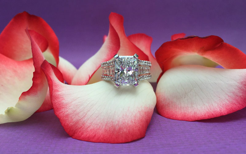 Radiant Cut Diamonds Dallas