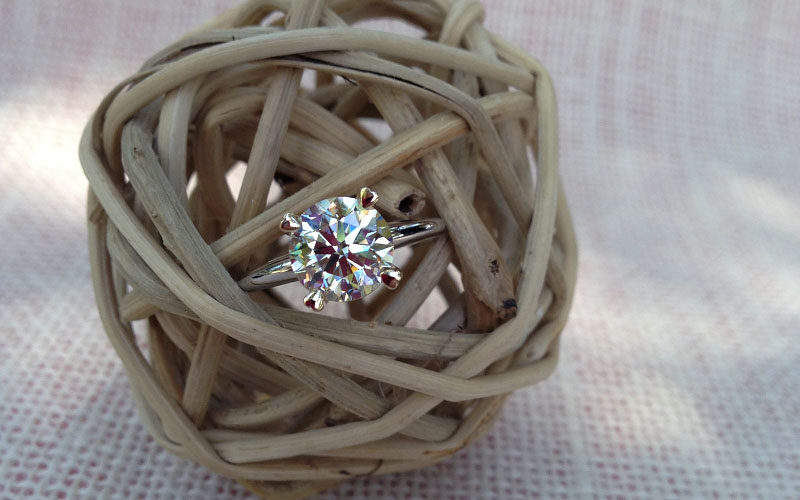 Solitaire Heart Shape Prongs