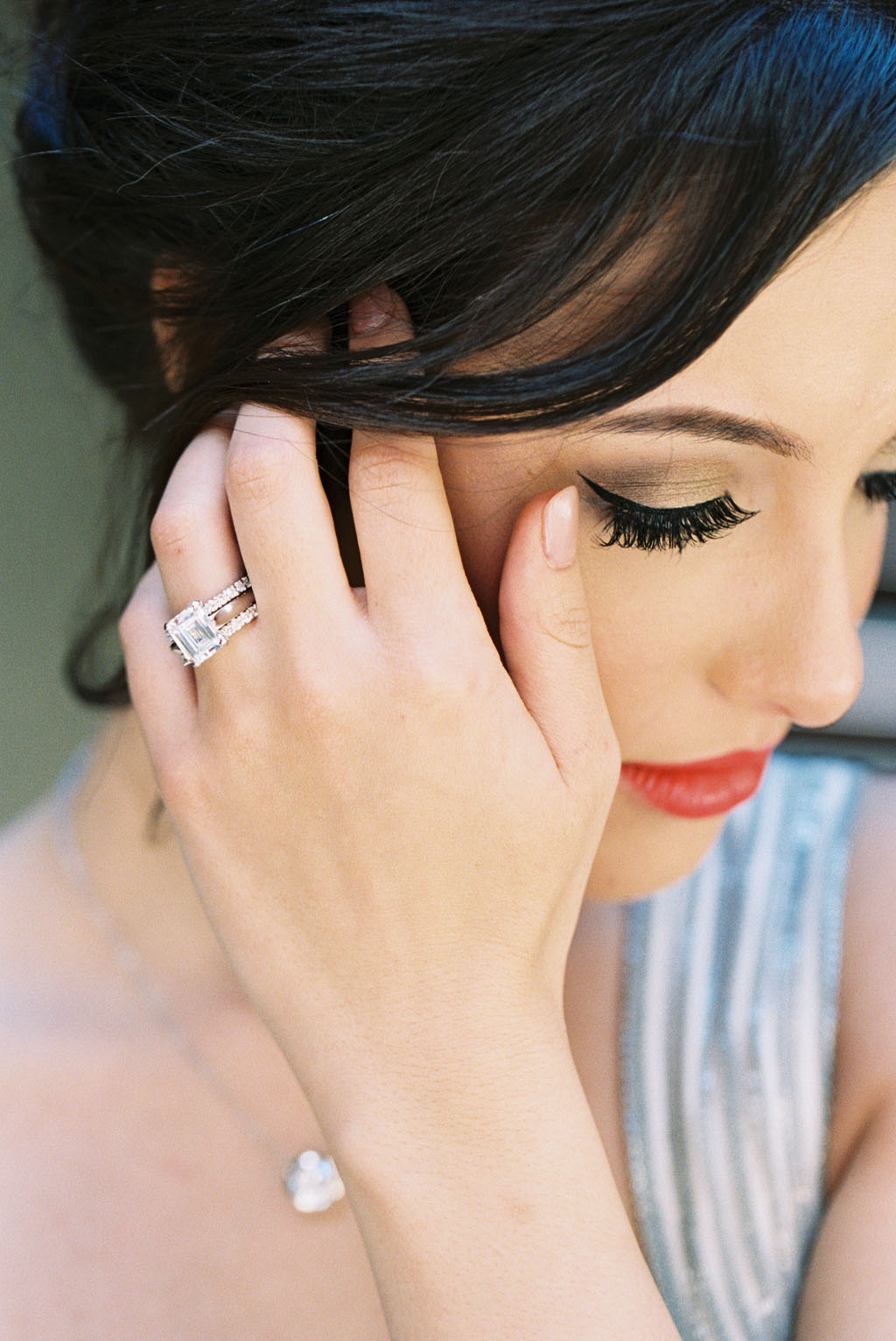 Woman With 4.0 Carat Ring