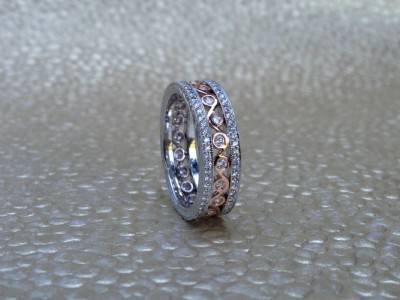 Eternity Band Rose Gold