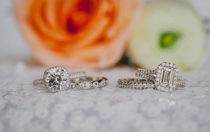 Halo Engagement Rings In Dallas