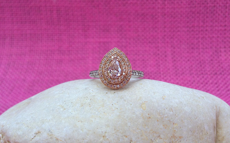Pink Diamond Ring Dallas