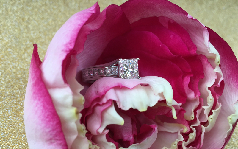 Princess Cut Diamond Ring Dallas