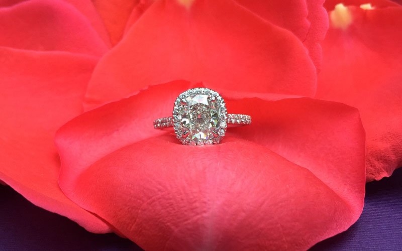 vintage-cushion-halo-engagement-ring