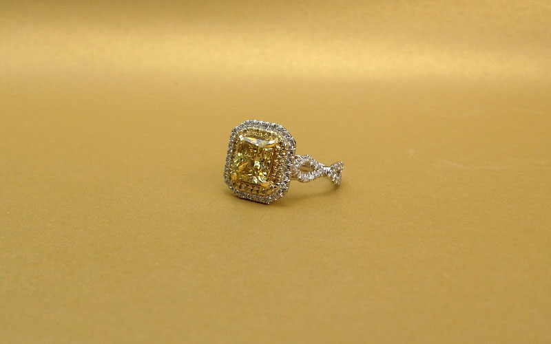 Yellow Diamond Ring Dallas