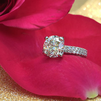 round-engagement-ring-pave-band-dallas